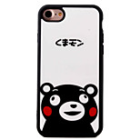 For iPhone 7 7plus 6S 6plus SE 5S 5 iPhone Case Cover  Cute Little Bear Flowers Pattern TPU Material