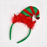 1PC The New Christmas Elf Children Hoop Head Hoop Cartoon Hairpin Christmas Gift