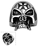 Ring Stainless Steel Fashion Silver Jewelry Halloween Daily Casual Sports 1pc