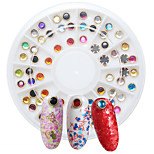 3D DIY Nail Art Tip Mixed Colors Nail Rhinestones Beauty Nail Decoration Glitter