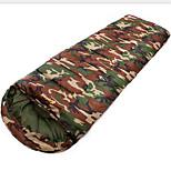 Спальный мешок Прямоугольный Односпальный комплект (Ш 150 x Д 200 см) 10 Пористый хлопокX30Пешеходный туризм Походы В помещении