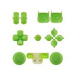 vervangende controller geval bouwpakket instellen voor ps3 geel / blauw / groen