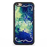 Infinity Design Metal CoatedTPU Frame Back Case for iPhone 7 7 Plus 6s 6 Plus SE 5s 5c 5 4s 4