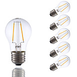 2W E26 LED Filament Bulbs A15 2 COB 200 lm Warm White Dimmable 120V 6 pcs
