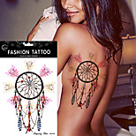 5Pcs New Dreamcatcher Pattern Temporary  Tattoo Sticker Dream Catcher Feather Tatoos