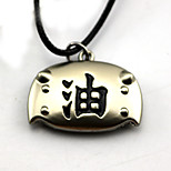 Inspired by Naruto Jiraiya Anime Cosplay Accessories Necklace Silver Alloy