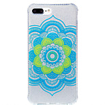 Para IMD / Estampada Capinha Capa Traseira Capinha Mandala Macia TPU AppleiPhone 7 Plus / iPhone 7 / iPhone 6s Plus/6 Plus / iPhone 6s/6