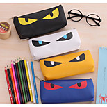 Students Pu Leather Stationery Bags
