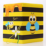 Travel Passport Holder & ID Holder Waterproof / Dust Proof / Portable Travel Storage PVC Yellow Bees