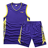 Ensemble de Vêtements/TenusSport de détente / Badminton / Basket-ball / Course/Running-Sans manche-Homme