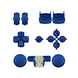Replacement Controller Case Assembly Kit Set for PS3 Controller Yellow/Blue/Green
