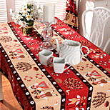 Square Patterned Table Cloth , 100% Cotton Material Hotel Dining Table / Table Decoration / Dinner Decor