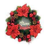 agulhas de pinheiro de Natal da grinalda ornamentos 50 centímetros