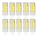10 PCS G4 51 Smd2835 Led 5 w 850 lm AC220 Warm White Neutral White Small Ceramic Corn Lamp