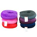 Multi-function car neck massage pillow U nanoparticles pillow travel u-shaped pillow color random