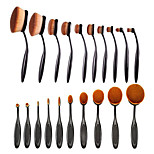 10 Makeup Brushes Set Others Full Coverage Plastic Face / Eye / Lip Others