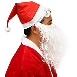With Beard Christmas Hat Santa Claus Hat Christmas Party Holiday Items