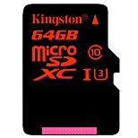 Kingston 64GB Micro SD Card TF Card memory card UHS-I U3 Class10