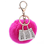 Key Chain Key Chain Peach Metal / Plush