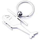 Key Chain Aircraft Titanium Metal