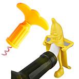 2pcs Creative Funny Banana Men Wine Bottle Stopper Wine Grape Bottle Stopper