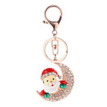 Key Chain Key Chain / Diamond Red / Silver Metal