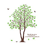 Wall Stickers Wall Decals,  Green Tree PVC Wall Stickers