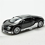 Action Figure Model & Building Toy Car Metal Black / White / Orange For Boys Above 3