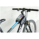 Велосумка/бардачокСотовый телефон сумка Бардачок на рамуВодонепроницаемый Дожденепроницаемый Светоотражающая лента Пригодно для носки