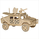 Jigsaw Puzzles Wooden Puzzles Building Blocks DIY Toys Big Hummer Jeep 1 Wood Ivory Model & Building Toy