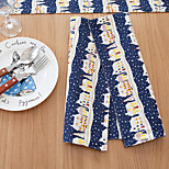Square Print / Patterned / Floral Placemat , Cotton Blend Material Hotel Dining Table / Table Decoration