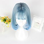 Sweet Lolita Lolita Short Blue Lolita Wig CM Cosplay Wigs Wig For Women