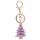 Key Chain Key Chain Purple / Silver Metal