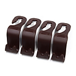 Car Seat Headrest Hook Four Pack Brown