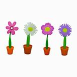 Creative Plasti/Silica Gel Flowerpot Style BallPoint Pen