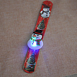 Christmas On The Ring Of Light Flashing Bracelet