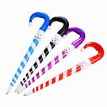 Cartoon Plastic Snow Pattern BallPoint Pen