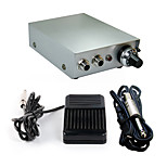 Solong Tattoo Double Output Digital Tattoo Power Supply  Foot Pedal  Clip Cord Kit P103-3