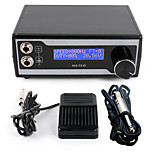 Solong Tattoo Power Supply Digital LCD Display Footswitch Clip cord Kit for Machine  Needle Grip P121
