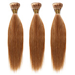 1PC TRES JOLIE Remy Yaki 10-20Inch Color #27 Strawberry Blone Human Hair Weaves