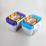4 Kitchen Plastic Lunch Box