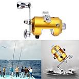 Катушки для наживок 2.1:1 1 Шариковые подшипники Правосторонний Пресноводная рыбалка Обычная рыбалка-Hand Wheel Unbranded