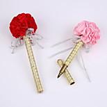 New Ribbon Pure Handmade Wedding Party Signature Pen Marker Pen(Refill Gold)