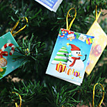 Ornaments Gifts Unlit Holiday Paper Christmas Decoration
