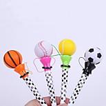 Ball Style Plastic Bounce BallPoint Pen