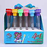 Creative Plastic Multifunction Seal Blow Bubbles Learning Toys BallPoint Pen