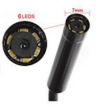 5M 7mm Lens 6LED  Endoscope IP67 USB Borescope Tube Camera Snake