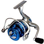 Катушки для спиннинга Спиннинговые катушки 2.6:1 8.0 Шариковые подшипники Заменяемый Обычная рыбалка-LF4000