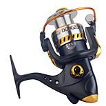 Катушки для спиннинга Спиннинговые катушки 2.6:1 13 Шариковые подшипники Заменяемый Обычная рыбалка-DF3000