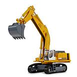 Baustellenfahrzeuge Spielzeuge Auto Spielzeug 1:87 Metall ABS Plastik Gelb Model & Building Toy